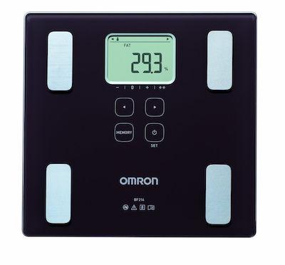 Omron BF214 με 3 Ενδείξεις - Ζυγαριά / Ψηφιακός Λιπομετρητής