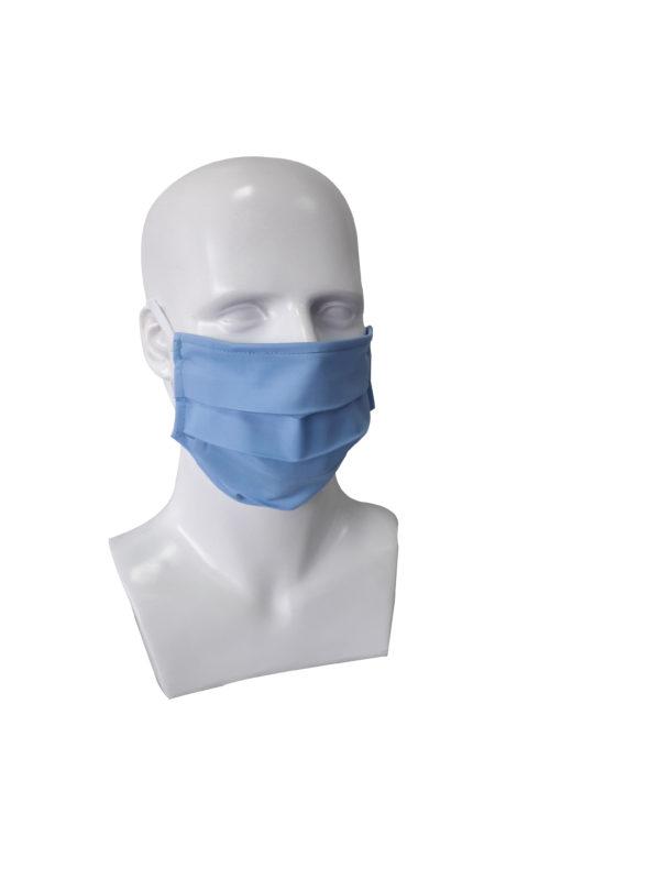 Μάσκα Υφασμάτινη Μπλε 2τμχ 0807474 mobiak