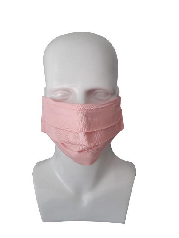 Μάσκα Υφασμάτινη Ροζ 2τμχ 0807475 mobiak