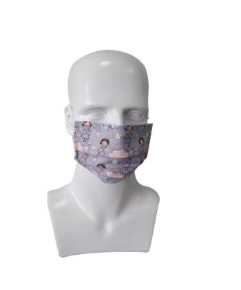 Μάσκα Παιδική Υφασμάτινη Πριγκίπισσες 2τμχ 0807478 mobiak