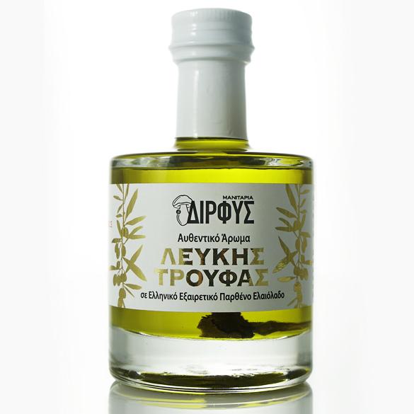 Ελαιόλαδο με άρωμα λευκής τρούφας 250ml