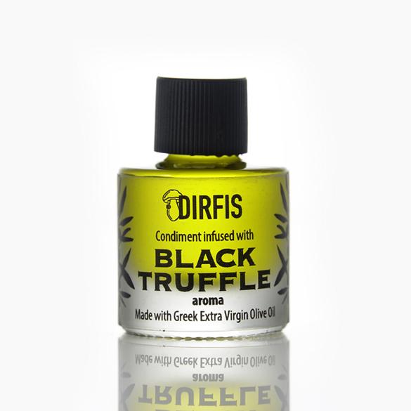 Ελαιόλαδο με άρωμα μαύρης τρούφας 5ml