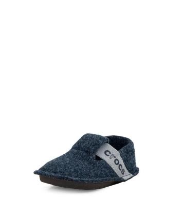Crocs 205349-410 Παιδική Χειμωνιάτικη Παντόφλα Navy Crocs