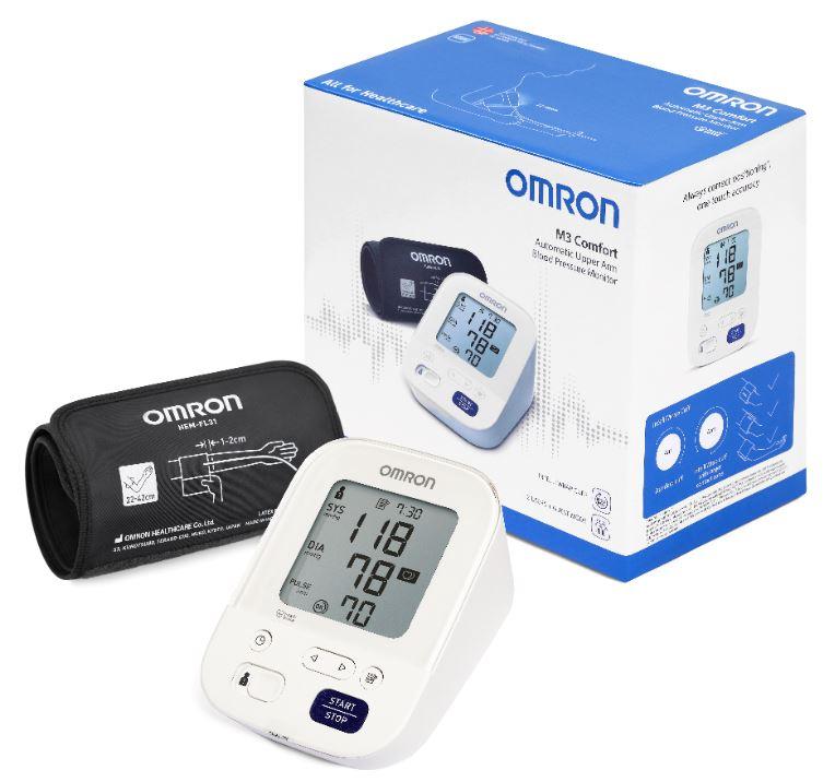 Omron M3 Comfort HEM-7155-E Πιεσόμετρο μπράτσου- Omron