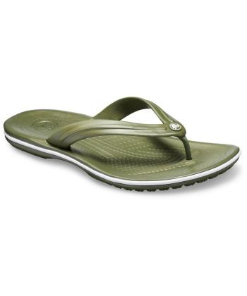 Crocs 11033-37P Crocband Flip Πράσινο Χακί Army Green / White )
