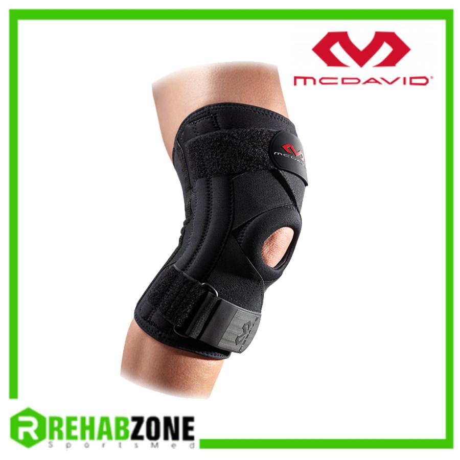 McDavid Hexpad Leg - 425 Knee Support w- Μαύρη- Επαγγελματική Eπιγονονατίδα
