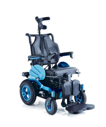 """Ηλεκτροκίνητο Αναπηρικό Αμαξίδιο Ορθοστάτης """"Angel"""" 0806240 - MOBIAK"""