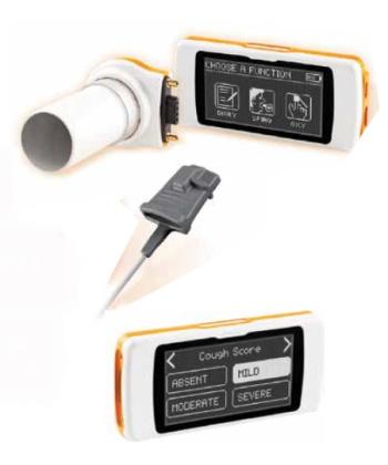 Σπιρόμετρο Φορητό Spirodoc® με FlowMir 0810664 mobiak