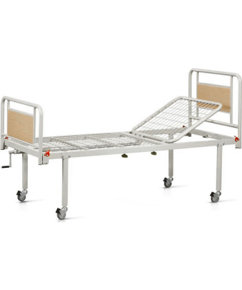 Κρεβάτι-Νοσοκομειακή Kλίνη Μονόσπαστη με Ρόδες - 10-2-012 - Vita