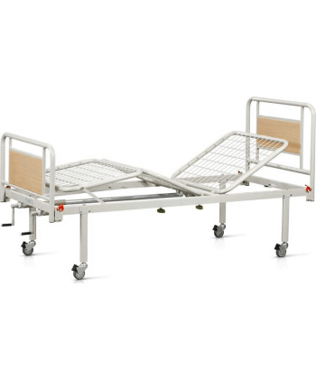 Κρεβάτι-Νοσοκομειακή Κλίνη Δίσπαστη με Ρόδες - 10-2-013 - Vita