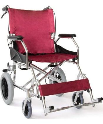 Αναπηρικό Αμαξίδιο Αλουμινίου Burgundy- 09-2-004 - Vita