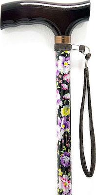 Vita Μπαστούνι Ρυθμιζόμενο Έγχρωμο 09-2-057 1τεμ. Floral