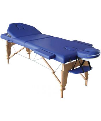 Κλίνη Φυσικοθεραπείας Πτυσσόμενη Με Ξύλινα Πόδια Και Πλάτη - AC3410 - Alfacare