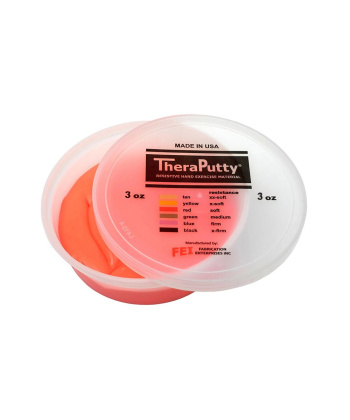 Πηλός Εξάσκησης Theraputty® - Κόκκινο - Μαλακό - 0811474 - mobiak