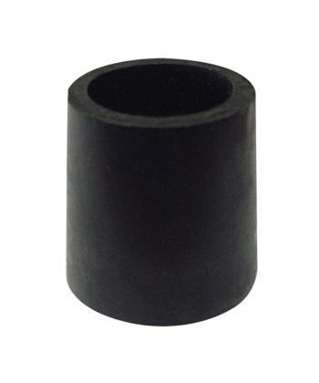 Παπουτσάκι μαύρο για ξύλινα μπαστούνια 1,8cm 0806445 mobiak