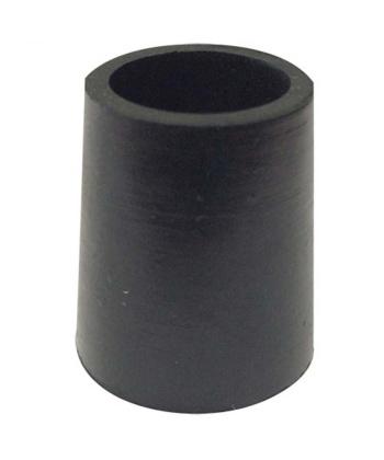 Παπουτσάκι μαύρο για ξύλινα μπαστούνια 1,6cm 0806444 mobiak