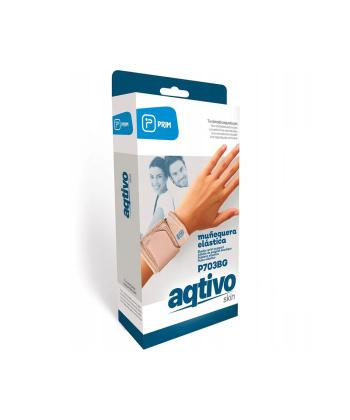 Περικάρπιο Ελαστικό Μπεζ Aqtivo Skin One Size 0802627 MOBIAK
