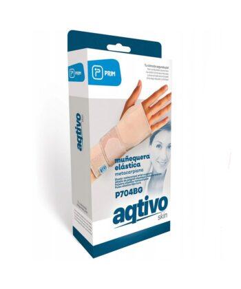 Πηχεοκαρπικός Νάρθηκας Ελαστικός Μπεζ Aqtivo Skin Large 0802630 MOBIAK