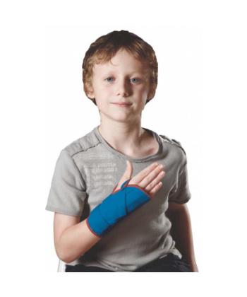 Παιδιατρικός Ελαστικός Νάρθηκας Καρπού Αριστερός ΜΠΛΕ- PED/8708 - Ortholand